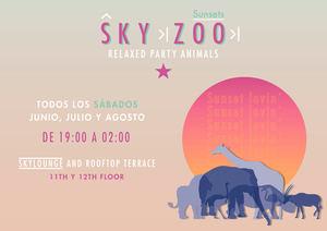 El Hotel Indigo Madrid Gran Vía, da la bienvenida a la 5a temporada de SkyZoo Sunsets