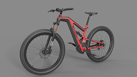Smart e-bike ATOM X.