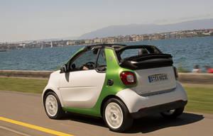 Nuevo smart fortwo cabrio electric drive