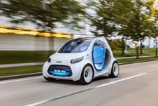 Prototipo autónomo Smart Vision EQ fortwo