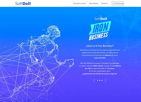 SoftDoit crea El show de Truman de la empresa para retrasmitir su IronBusiness