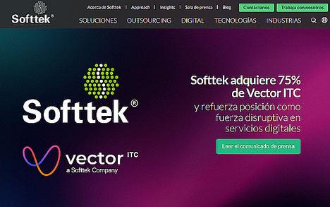 Softtek adquiere el 75% de Vector ITC