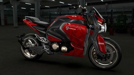 Soriano Motori, la moto eléctrica de lujo para los amantes de las dos ruedas
