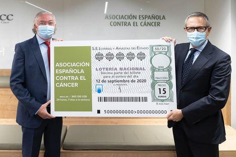 Loterías y la AECC presentan el Sorteo Extraordinario de Loterías en apoyo de la AECC