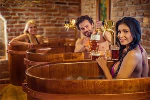 Spa Beer Land, baños de cerveza a la checa