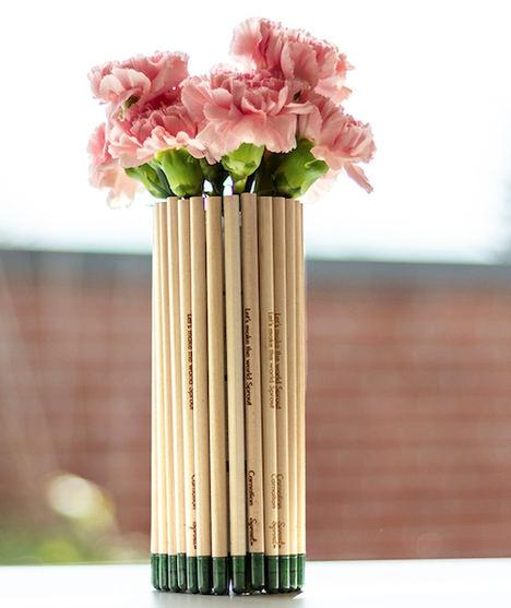 Un regalo ecológico por San Valentín: lápices plantables Sprout Love Edition