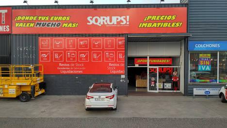 La cadena de outlets urbanos Sqrups! refuerza su posición en Castellón