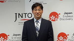 Sr. Hisashi Otsuka, Director Ejecutivo de la Oficina Nacional de Turismo de Japón.