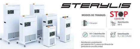 Sterylis presenta nuevos esterilizadores de estancias para la nueva normalidad de las empresas