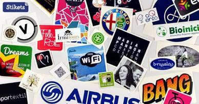 Stikets se lanza a la personalización de pegatinas para profesionales y empresas