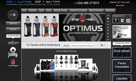 Un 10% de los usuarios de cigarrillo electrónico realiza sus compras online