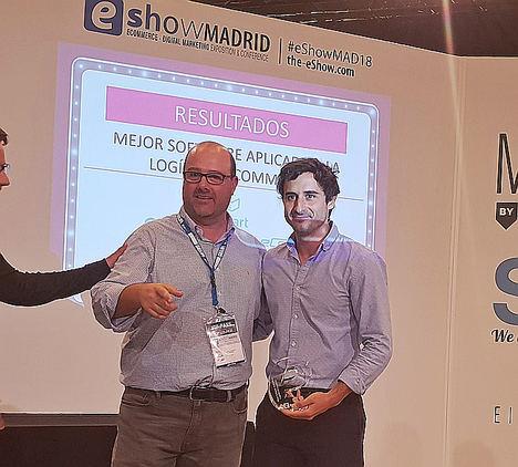 Stuart recibe el premio al 'Mejor Software aplicado a la logística Ecommerce' en los eAwards 2018