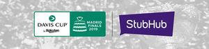 StubHub y Davis Cup by Rakuten Madrid Finals anuncian una alianza para la venta de entradas