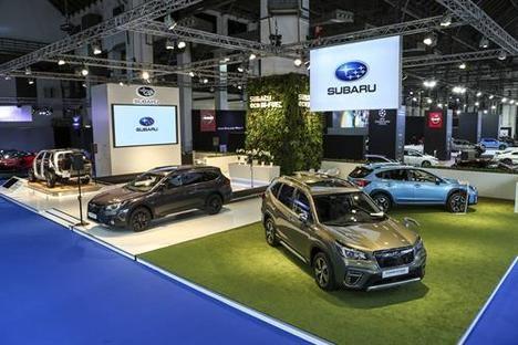 Subaru presenta su gama híbrida en el Salón de Barcelona