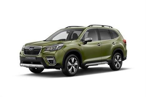 Subaru presenta su gama híbrida en Ginebra
