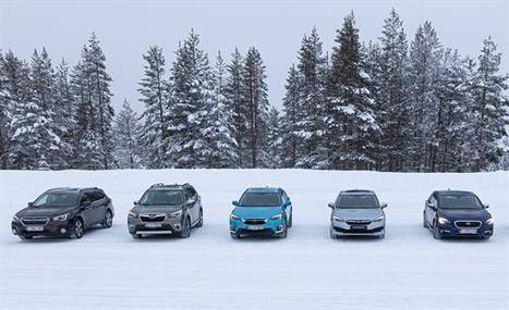 Máxima seguridad y etiqueta ECO en toda la gama Subaru