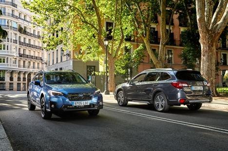 La gama híbrida y la gama GLP de Subaru