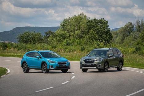 Ya se admiten pedidos de los híbridos de Subaru, Forester y XV