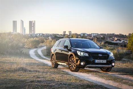 El Outback 2019 completa la gama Eco Bi-Fuel de Subaru