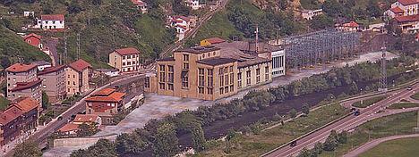 Subestación actual de Santa Cruz.