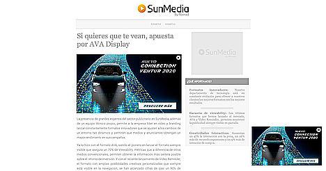 SunMedia lanza un nuevo formato de Display siempre visible
