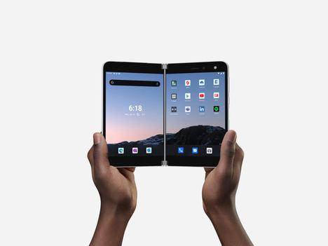Disponible para preordenar hoy, Surface Duo está diseñado específicamente para la productividad móvil