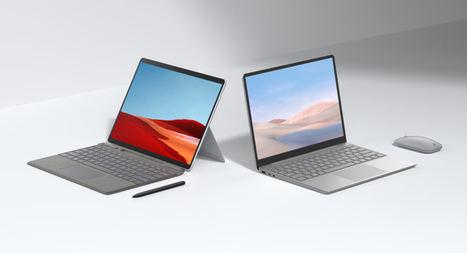 Microsoft presenta Surface Laptop Go y actualiza Surface Pro X con un nuevo modelo