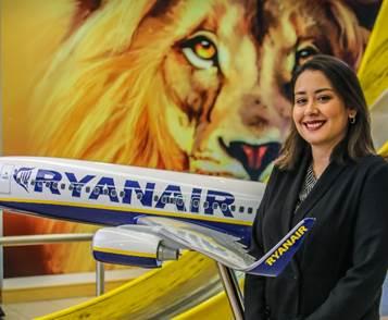 Ryanair, nombra a Susana Brito nueva PR & Communications Manager para España y Portugal