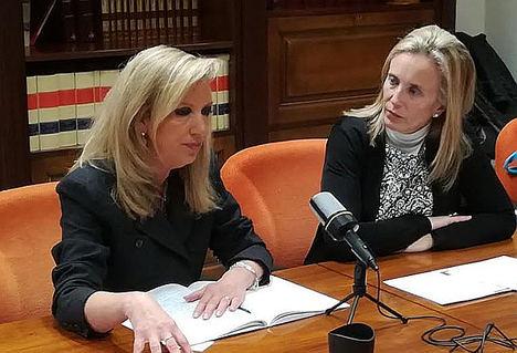 Susana Labiano e Izaskun Goñi.