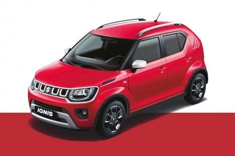 Nuevo Suzuki Ignis Red&White