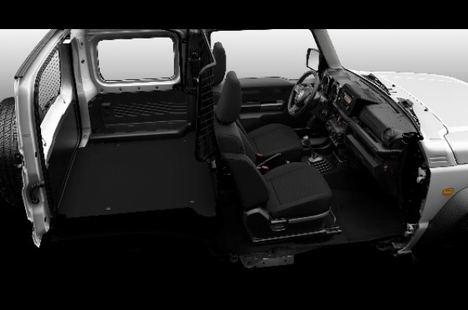 Suzuki Jimny comercial ligero