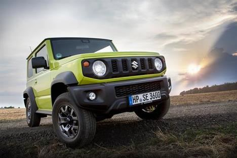 "El diseño del Suzuki Jimny, finalista en el ""World Car Design of the Year"""