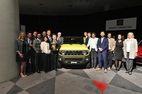 "El Suzuki Jimny gana el ""World Urban Car 2019"""