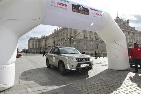 El Suzuki Vitara triunfa en el Spain Classic Raid