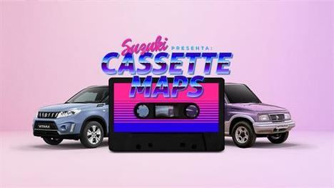 Suzuki envía un cassette a los propietarios de un Vitara clásico