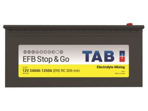TAB Batteries presenta su nueva batería EFB en Caja C para vehículo industrial