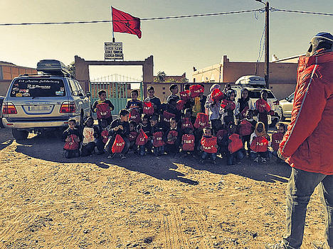 TAB Spain vuelve a colaborar con 4x4 Acción Solidaria