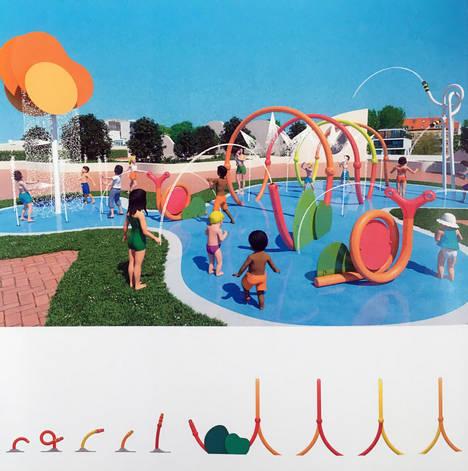 Tandem Company: 'Es indispensable potenciar los atributos de las áreas de juego con agua mediante colores y formas originales'