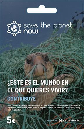 """Nace la plataforma """"Save the Planet Now"""" para ayudar a la preservación del planeta"""