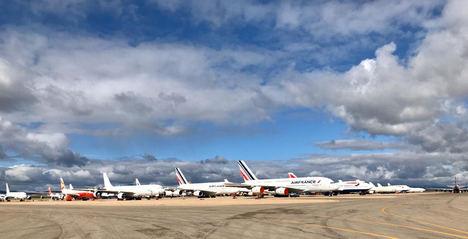 TARMAC Aerosave, en primera línea para el almacenamiento de aviones
