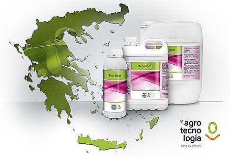 TEC- BOM de Grupo Agrotecnología logra el registro fitosanitario en Grecia