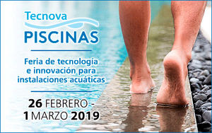 TECNOVA PISCINAS 2019 programa una intensa agenda de jornadas