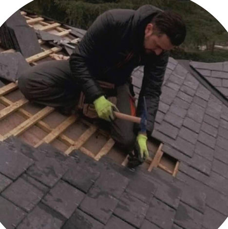 Reinicio de las actividades en construcción por Reparación de tejados de pizarra Andrés Ramos
