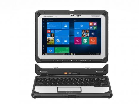 Versatilidad, personalización y flexibilidad con el portátil convertible TOUGHBOOK 20 de Panasonic