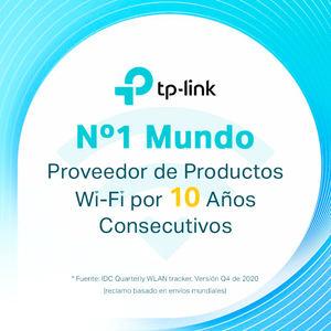 TP-Link se posiciona como el proveedor global Nº 1 de productos Wi-Fi desde hace 10 años