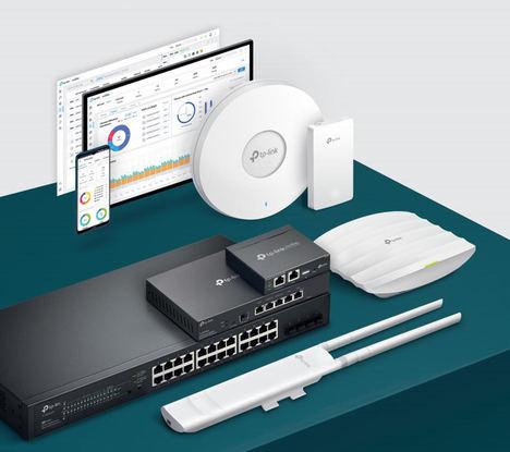 MCR añade a su portfolio Enterprise las soluciones de networking Omada de TP Link