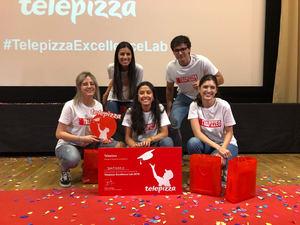 La Universidad CEU San Pablo, vencedora en la final interuniversitaria 'Telepizza Excellence Lab'