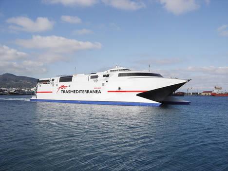 Trasmediterranea lanza una oferta especial para viajar entre Ceuta y la Península desde 4,99 euros