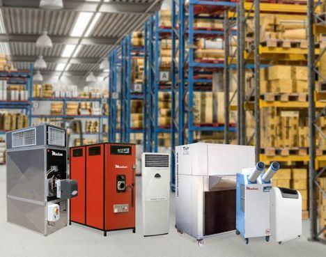 Alquiler de maquinaria para la industria