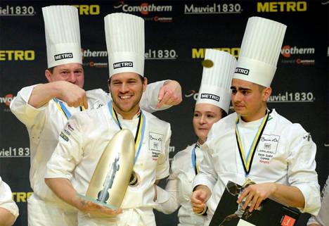 Hungría se sitúa a la cabeza de la gastronomía europea al ganar el Bocuse d´Or
